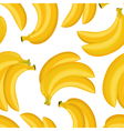 seamless texture of banana vector image