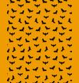 black bats pattern vector image vector image
