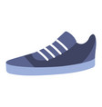 casual sport shoe style isolated vector image