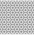 seamless geometric pattern in black and white geom vector image