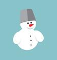 Snowman icon vector image vector image