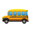 a school bus vector image
