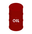 blank oil barrel vector image vector image
