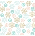 Christmas winter Seamless Pattern with color vector image vector image