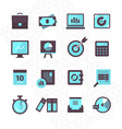Finance Icons Collection vector image vector image