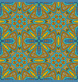 seamless colorful background ethnic motives vector image