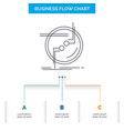 chain connect connection link wire business flow vector image