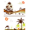 collect summer design vector image