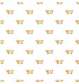 cute pig pattern seamless vector image