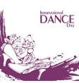 dance day ballroom standard shoes vector image vector image