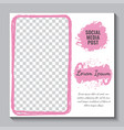 editable social media post template elegant sale
