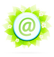 Icon Button Internet and E-mail vector image vector image