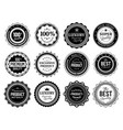 premium quality badges best choise emblem vector image vector image