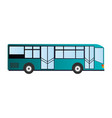 public transportation bus icon image vector image vector image