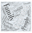 SF fishing as a family activity Word Cloud Concept vector image vector image