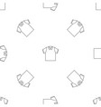 clean polo shirt icon outline style vector image vector image