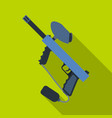 marker for paintballpaintball single icon in flat vector image vector image