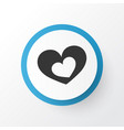 romantic icon symbol premium quality isolated vector image vector image