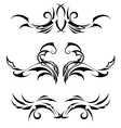 Set Tribal Tattoos vector image
