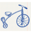 Tricycle vector | Price: 1 Credit (USD $1)