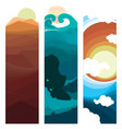 Nature Layers vector image