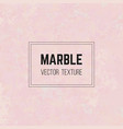 pink marble texture granite stone pattern vector image