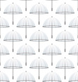 seamless umbrella vector image