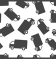 truck car seamless pattern background business vector image