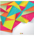 Background paper color folded WT vector image vector image