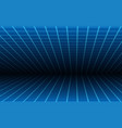 blue line room texture background vector image vector image