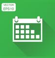 calendar icon business concept calendar agenda vector image vector image