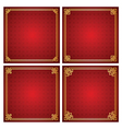 chinese frame vector image vector image