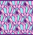 cute seamless pattern texture be used for vector image vector image