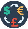 Exchange Money vector image vector image