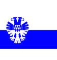 flag of arnhem of gelderland netherlands vector image vector image