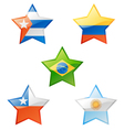 flags star vector image