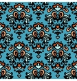 Flower pattern seamless paisley design vector image vector image