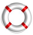 rescue buoy vector image vector image