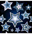 stars wallpaper vector image vector image