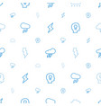 storm icons pattern seamless white background vector image vector image