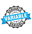 variable stamp sign seal vector image vector image