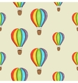 Background with color air balloon vector image vector image