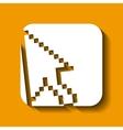 cursor icon design vector image vector image