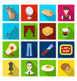 recreation medicine industry and other web icon vector image vector image