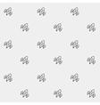 Simple pattern space rocket shuttle spaceship vector image