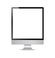 Unusual computer display vector image vector image