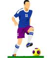 al 0249 soccer 01 vector image vector image