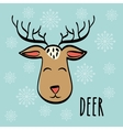 Deer icon design vector image vector image
