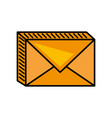 message mail envelope image vector image
