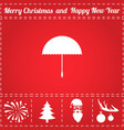 parasol icon vector image vector image